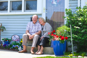 'The At Home Gardener', featuring Mary and Steve Barney